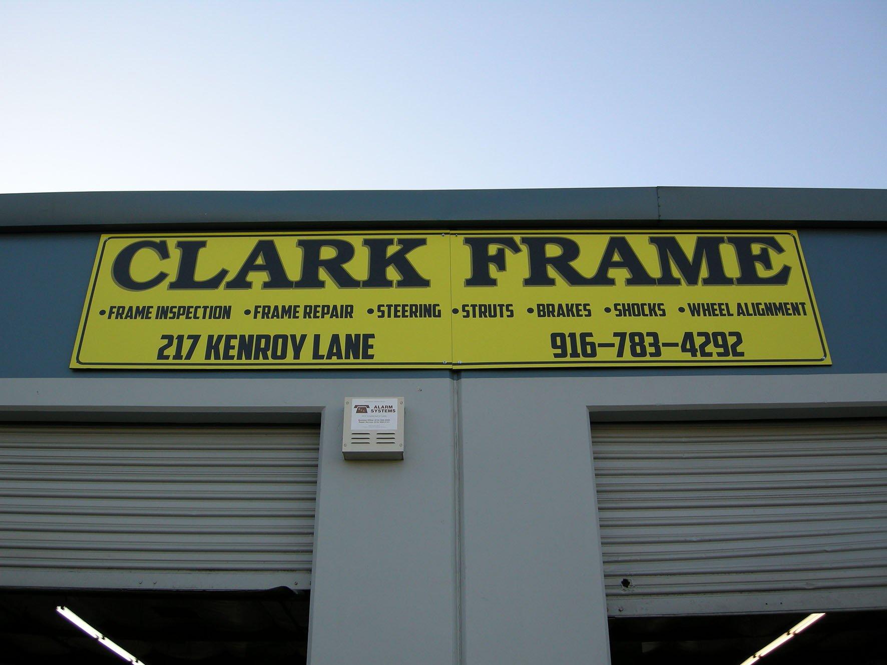 Clark Frame & Wheel Alignment
