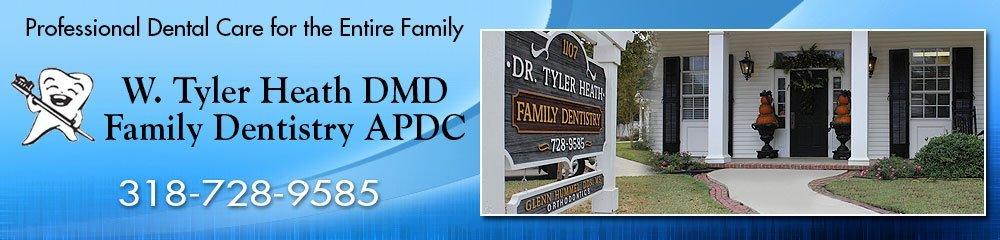 Dentist - Rayville, LA - W Tyler Heath DMD