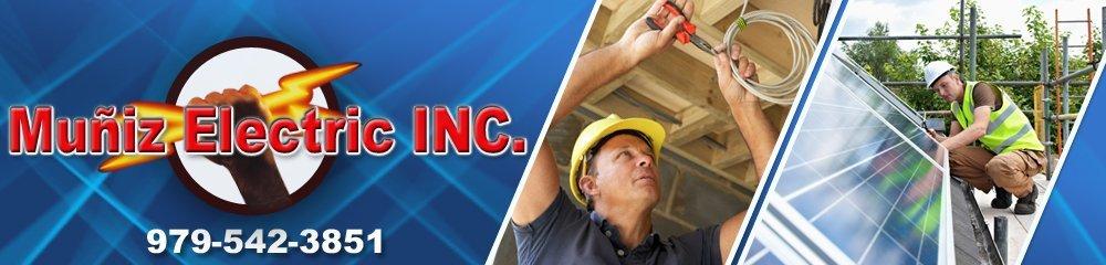 Electricians - Giddings, TX - Muñiz Electric INC.