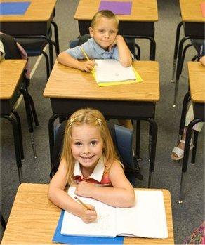 Grade school mclass room