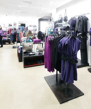 Clothes retail shop
