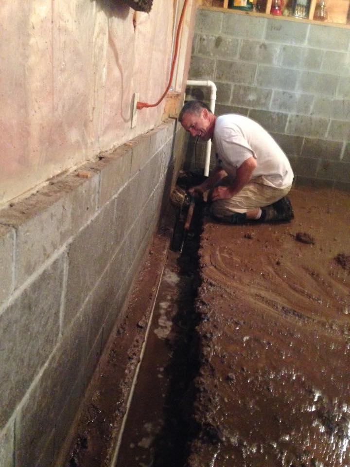 Leakage repairing