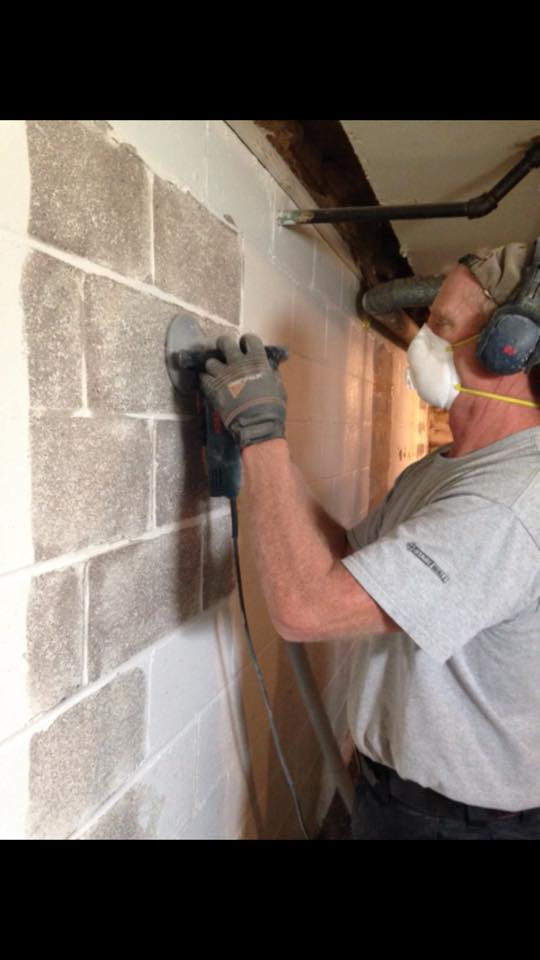Wall repairing