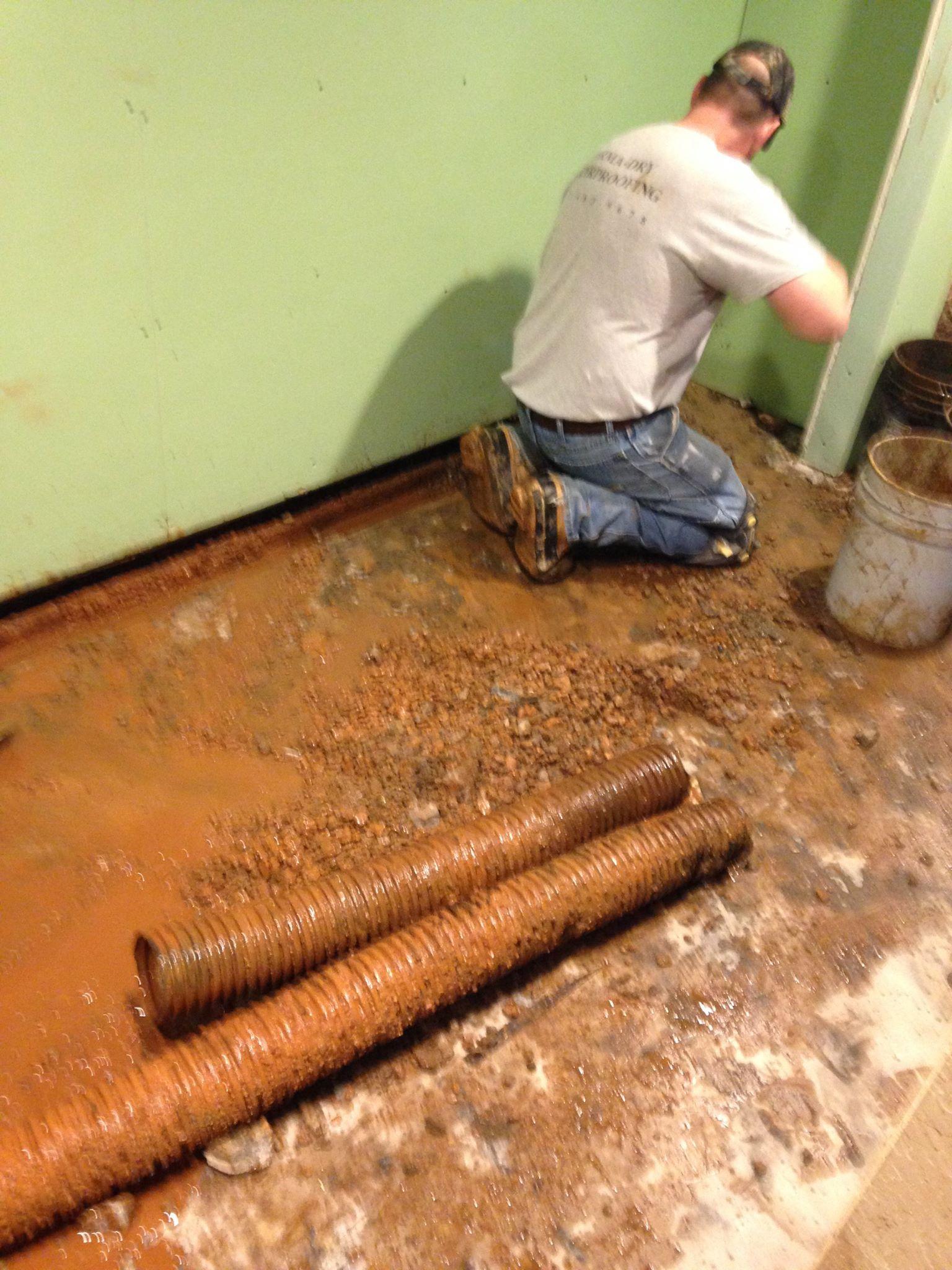 Foundation repairing