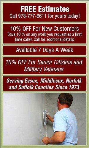 Residential Drywall - Danvers, MA - Augusta Plastering