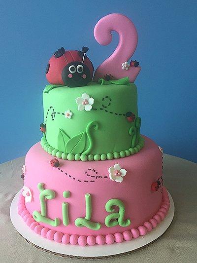 Lila Cake