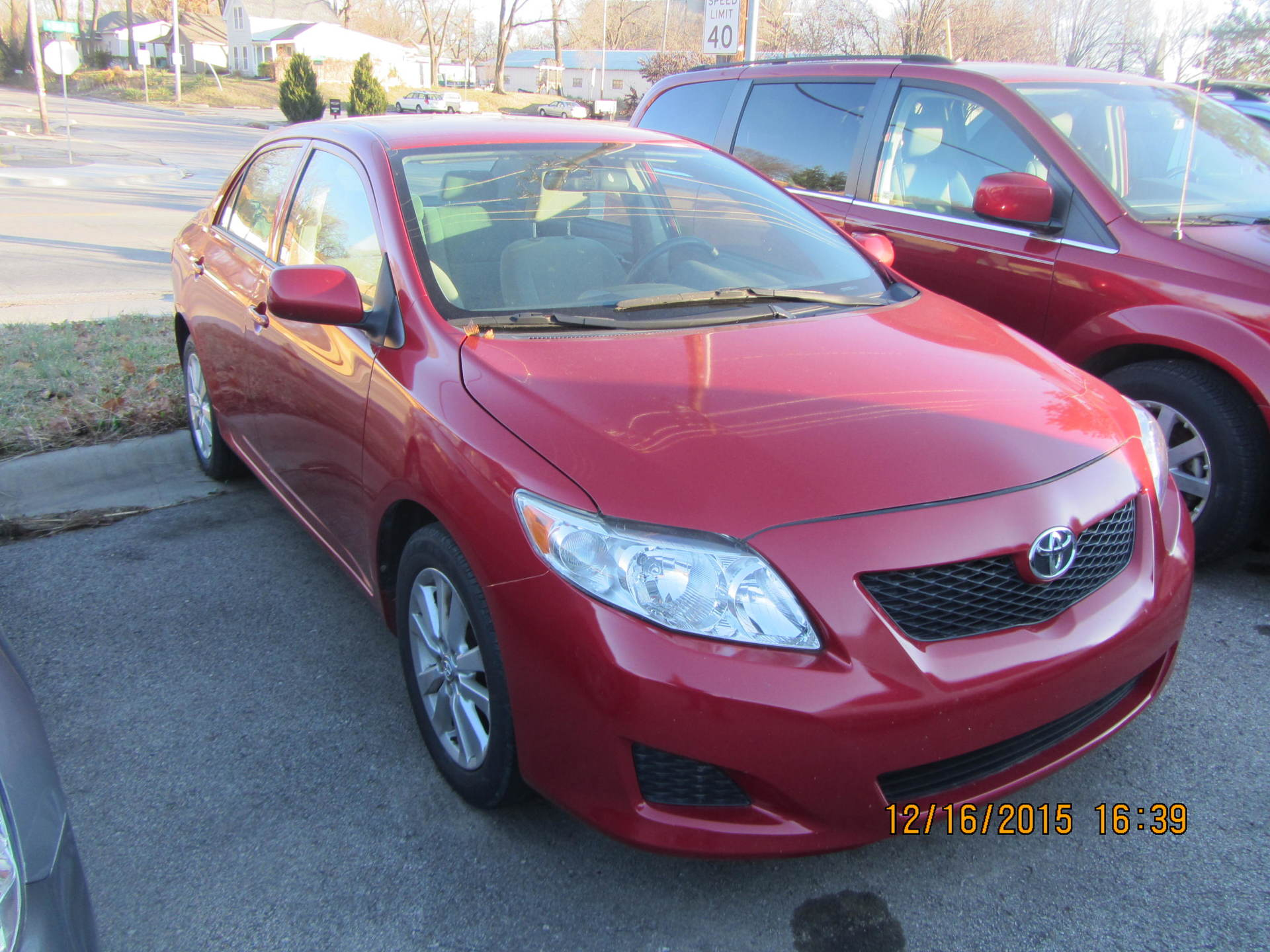 2010 Toyota Corolla, LE, Red