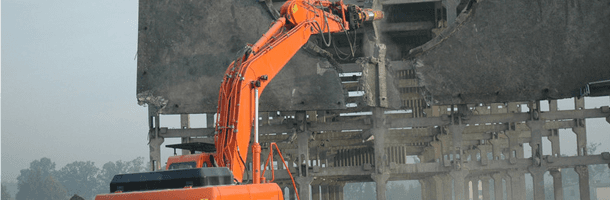 A machine for demolition