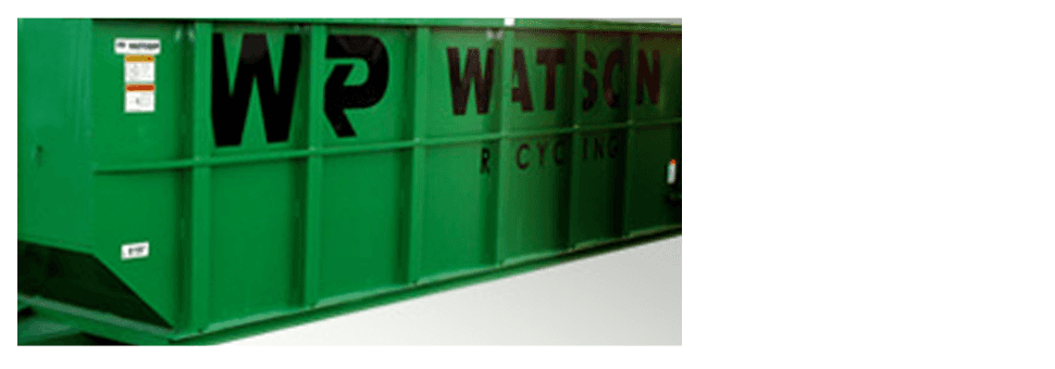 A watson recycling roll-off