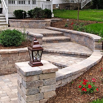 Garden Walls Retaining Wall Products Medway Ma