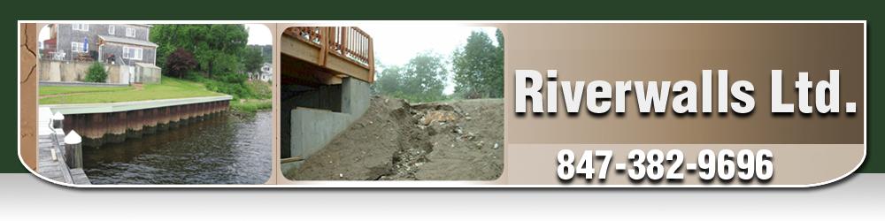 Seawall and Erosion Contractor - Fox River Grove, IL - Riverwalls Ltd.