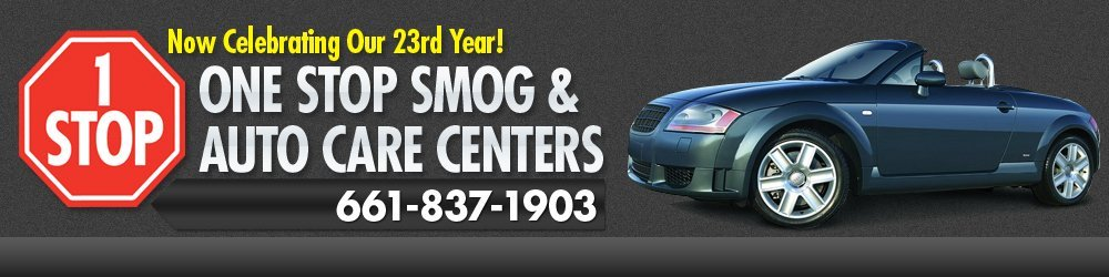 Smog Checks - Bakersfield, CA - One Stop Smog & Auto Care Centers