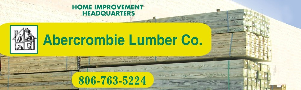 Lumber - Lubbock, TX - Abercrombie Lumber Co.