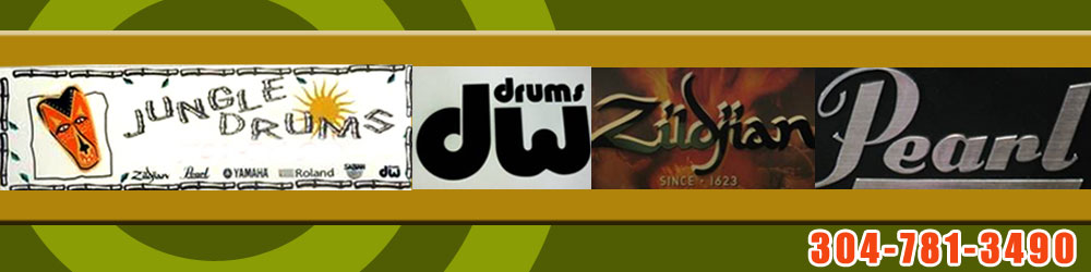 Musical Instruments Store - Charleston, WV - Jungle Drums