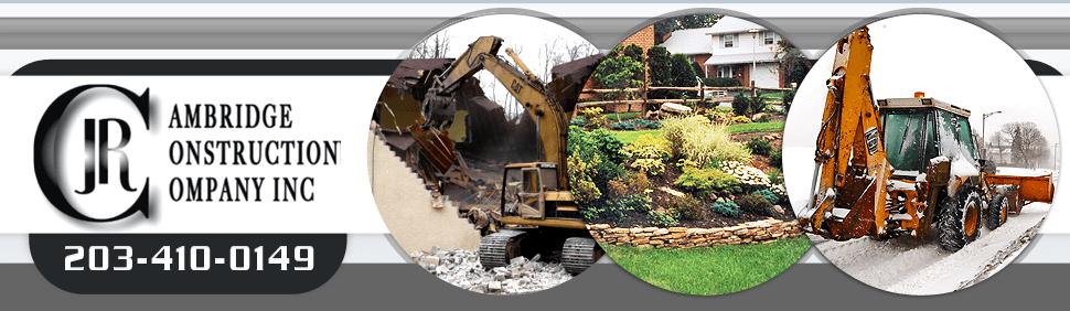 Complete Residential / Commercial Landscape Construction - Fairfield County - JR Cambridge Construction Company, Inc.