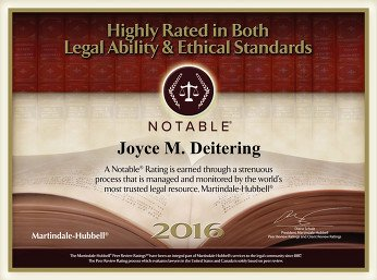 Highly Rated in Both Legal Ability and Ethical Standards