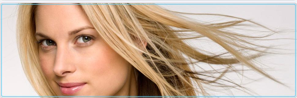 A beautiful blonde woman