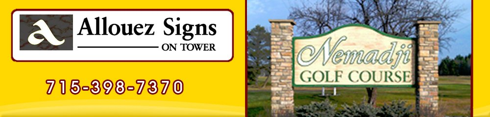 Indoor And Outdoor Signs - Superior, WI - Allouez Signs On Tower