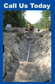 Sewer And Water Installation - Smithfield, RI - S. Ringland Construction