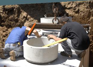 septic installation
