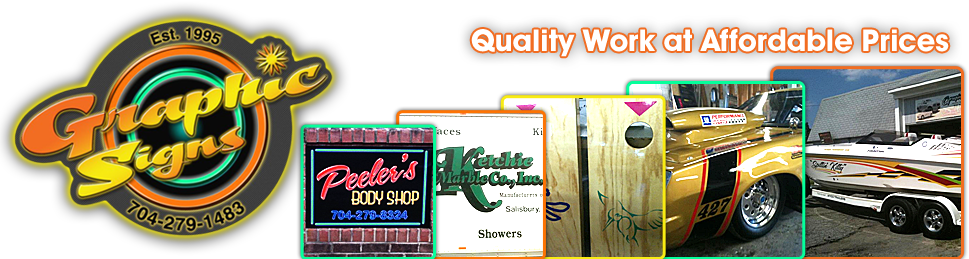 Rockwell, NC - Custom Signs and Promotions - Graphic Signs