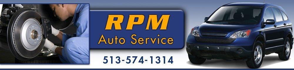 Auto Services - Cincinnati, OH - RPM Auto Service