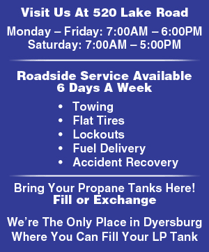 Auto Repair - Dyersburg, TN  - Lake Road AMOCO