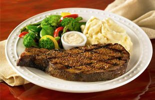T-bone part of beef