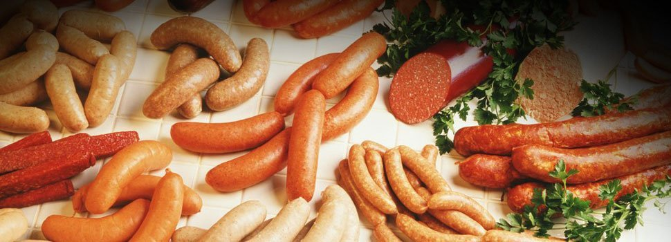 Different sausages