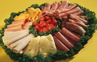 Meat and Cheese party tray