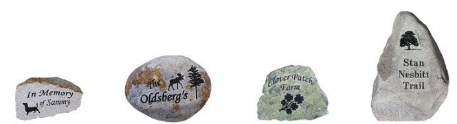 Custom Engraved Rocks