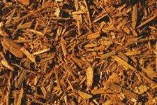 Gold Colored Mulch