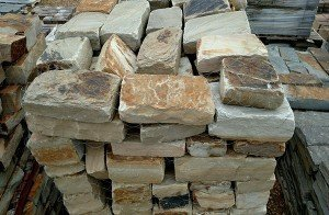 Rustic Mountain Wall Tumbled