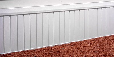 Skirting - Builders Service Aluminum Products - St. Augustine, FL