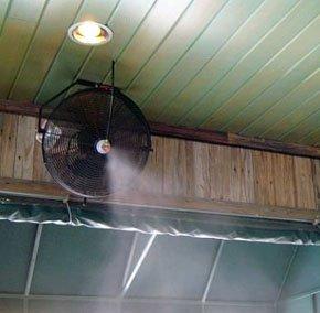Mist Fans - Builders Service Aluminum Products - St. Augustine, FL