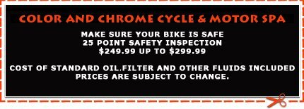 Color and Chrome Cycle & Motor Spa