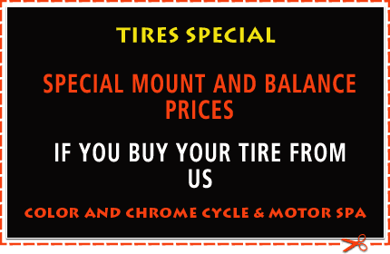 Tires Special 10% up to 20% of regular retail price on select tires offer is good through May 31, 2013