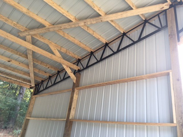 Roof trusses floor trusses cullman al for Custom roof trusses