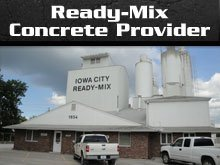 Ready-Mix Concrete - Iowa City, IA - Iowa City Ready Mix Inc