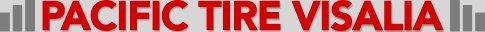 Pacific Tire Visalia - logo