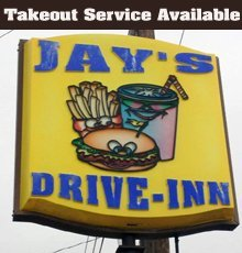 Carry Out Food - Pampa, TX - Jay's Drive Inn