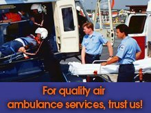 Medical Transportation - Rochester, MN - A ACLS Advanced Air Ambulance - For quality air ambulance services, trust us!
