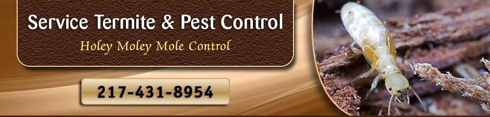 Exterminator - Danville, IL - Service Termite & Pest Control