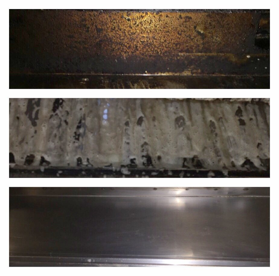 kitchen hood grease cleaning