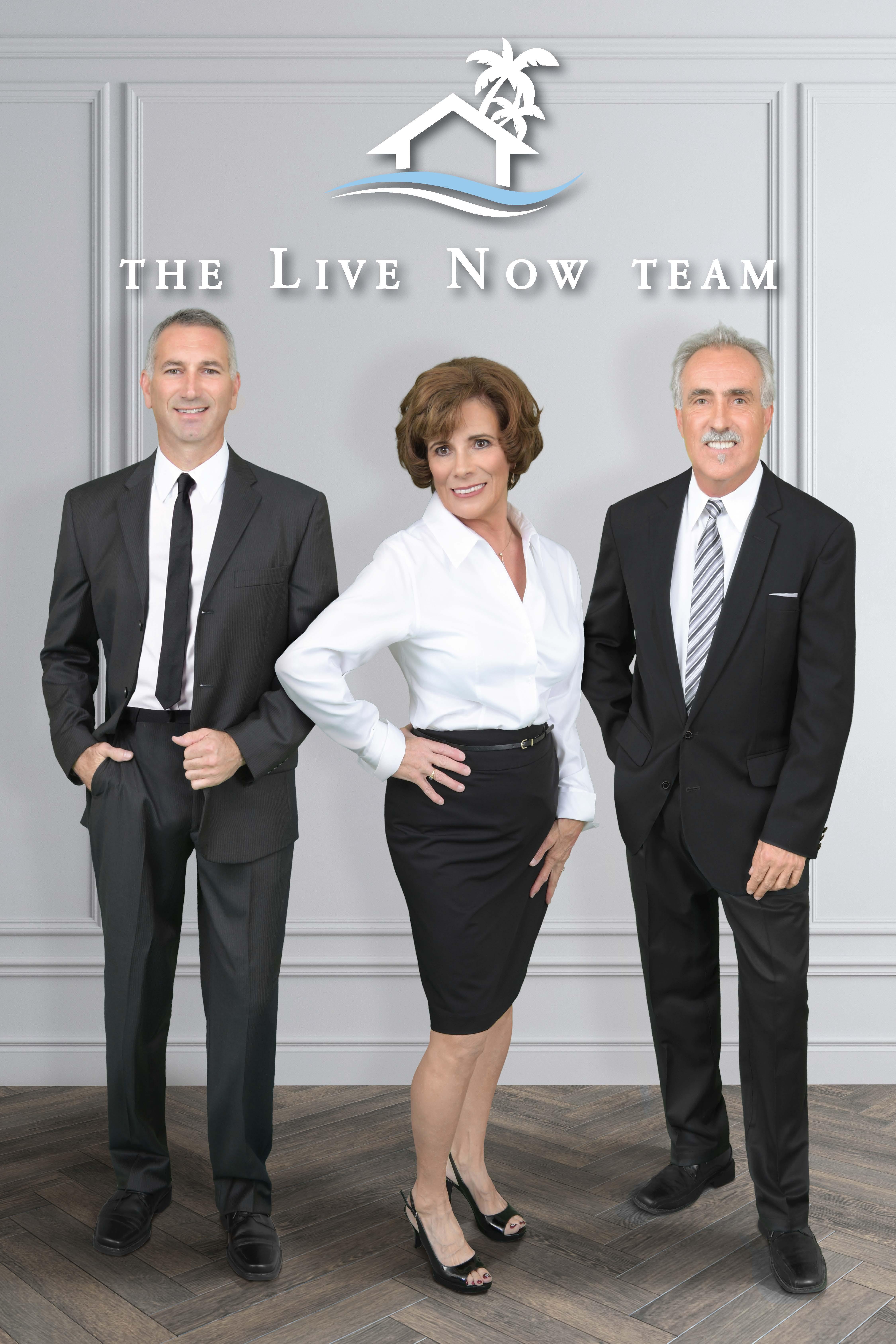 The Live Now Team - Scott, Carolyn & Jim