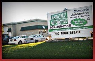 Auto Repairing | Lakeville, MN | Main Street Automotive | 952-469-2110