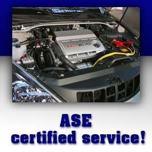 Cars Repair - Queen Anne MD - Daves Riverside Garage - ASE certified service!