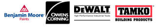 Benjamin Moore | Owens Corning | DeWalt | Tamko