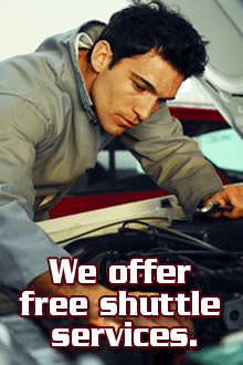 Auto Repair - Las Vegas, NV - Strip Husky - We offer free shuttle services.