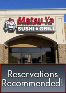 Sushi Bar - Stevens Point, WI - Matsu Ya